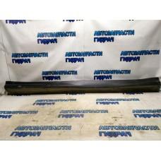 Накладка на порог (наружная левая) 6512A387ZZ-01 MITSUBISHI ASX (2010)  Хорошее состояние.