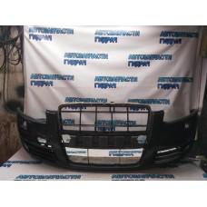 Бампер передний Audi A6 С6 2007 4F0807105C Отличное состояние С противотуманными фарами.