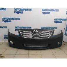 Бампер передний Toyota Camry V40 Отличное состояние Китай, в комплекте с решетками