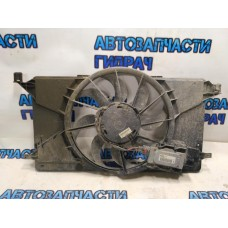 Вентилятор радиатора Ford Focus 3 HB 0130308447 1137328567 Отличное состояние.В сборе с блоком.