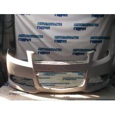 Бампер передний Ravon Nexia R3 42453226 Удовлетворительное состояние Дефект. Нештатные сетки. Поломано крепление.