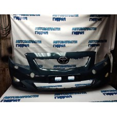 Бампер передний Toyota Corolla E150 5211912942 Хорошее состояние