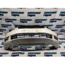 Бампер передний Skoda Superb 2 3T0807221G Удовлетворительное состояние Дефект, трещины.