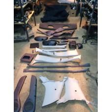 Обшивки/пластик салона Fiat Albea 2011 Отличное состояние.